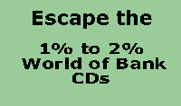 Escape the 1% World of Bank CDs with Safe Income Strategy #3.  Earn Tax-Free Income with No Downside Risk.