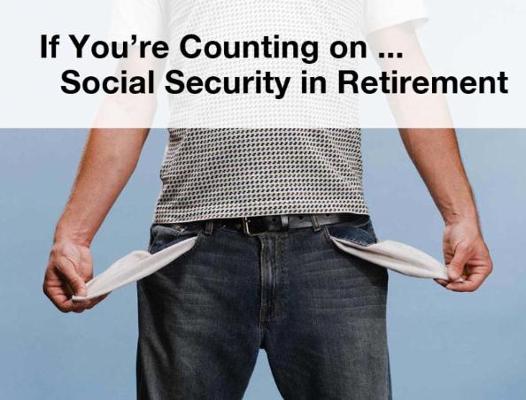 Facing a Retirement Shortfall.  Will you be strapped for cash in retirement or will you act now to do something about it?